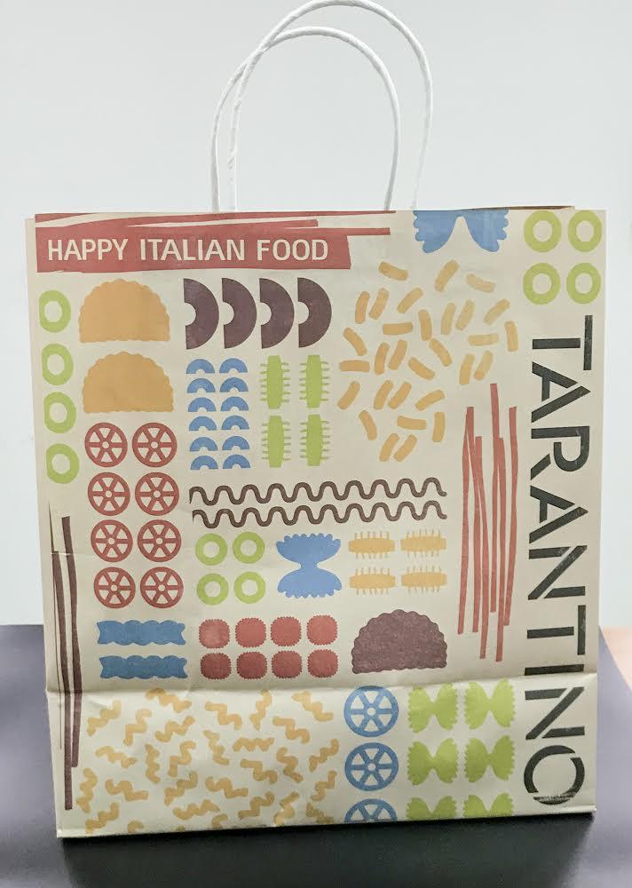 שקית ממותגת - tarantino